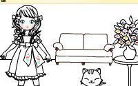 Cat Girl Mahjong