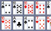 Shift Poker Solitaire