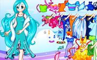 water fairy dress up
