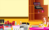 Makeup Store Decoration